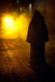 Thomas Greenwood as a smoke monster.