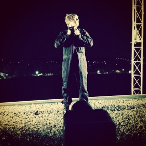 A shot of Byron Wolter as Peter on the roof during the first night.  Instagram: @brown300