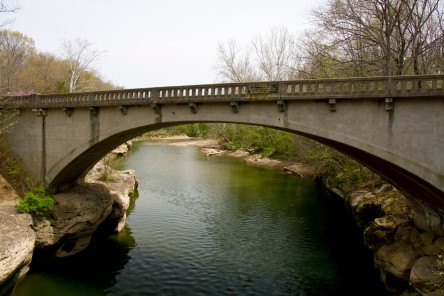 Highway Bridge over Sugar Creek.